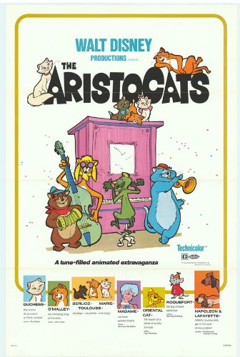 Image result for the aristocats movie poster