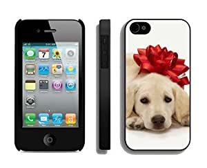 Best Buy Design Christmas Dog iPhone 4 4S Case 30 Black