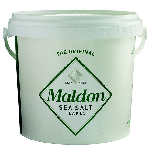Maldon Sea Salt Flakes - 3.3# Pail by Maldon