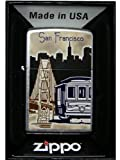 Zippo Lighter San Francisco Cable Car Bridge