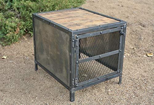 Industrial Sub woofer Enclosure. Vintage Speaker Cover. Modern. Reclaimed Wood.