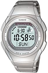 CASIO watch WAVE CEPTOR Waveceptor radio clock model digital WV-57HDJ-7AJF mens watch
