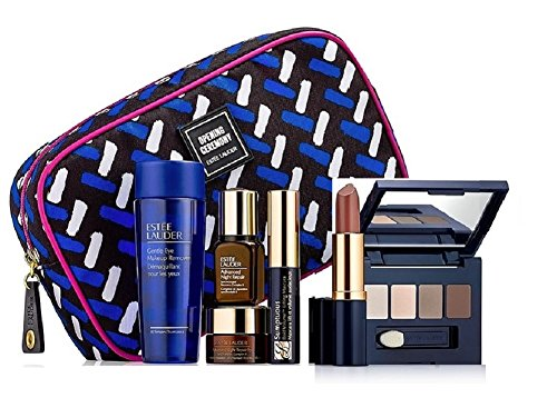Estee Lauder Skincare and Makeup 7pc Gift Set Subtle Shades ()