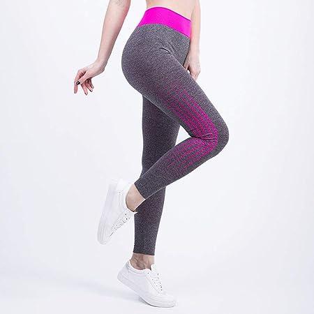 Mujer Deportes Pantalones de Yoga Gimnasio para Correr al ...