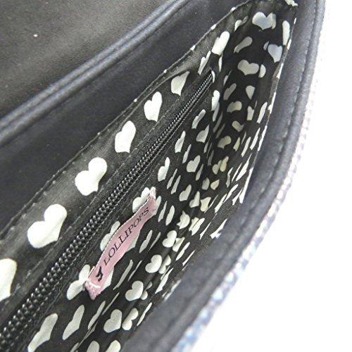 La 3x19x2 Negro p3508 De Cm Bolso Lollipops Bolsa 29 B1nFqtwAx