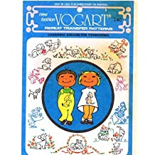 Vogart 240 Embroidery or Painting Transfer Pattern Puppies & Kittens