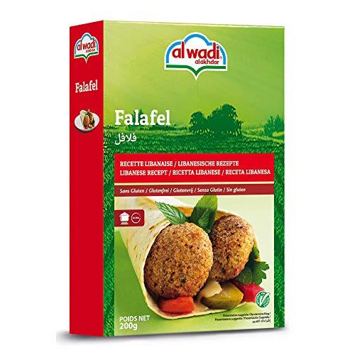 (Al Wadi Al Akhdar - Falafel Mix Lebanese Recipe - 7oz/200g (Pack of 2))