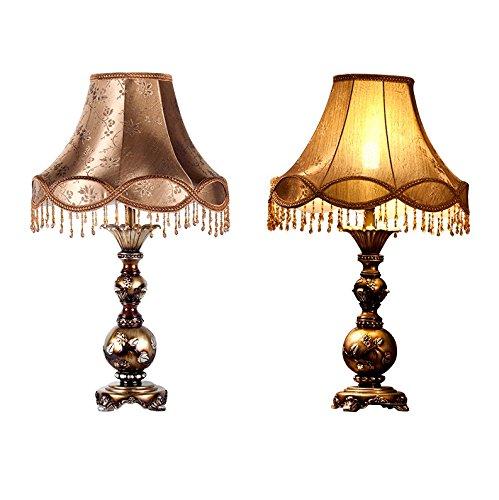 HH American Retro Study Room Living Room Luxury Lamp ( Size : 44x74xm ) by FJB (Image #2)