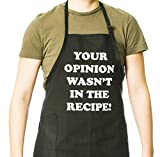 Funny Guy Mugs Your Opinion Wasn't In The Recipe Adjustable Apron with Pockets
