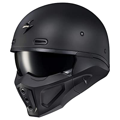 Scorpion Covert X Helmet (Small) (Black): Automotive