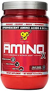 BSN Amino X - Fruit Punch - 30 Servings