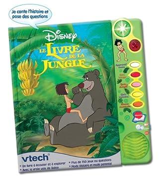 Vtech Jouet 1er Age Jouets Electroniques Magi Livre Interactif Le Livre De La Jungle