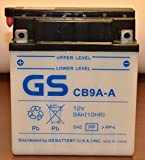 CB9A-A with Acid Pack OE Quality by GS BATTERY, a subsidiary of GS YUASA; The World's Leading Manufacturer of Powersports Batteries