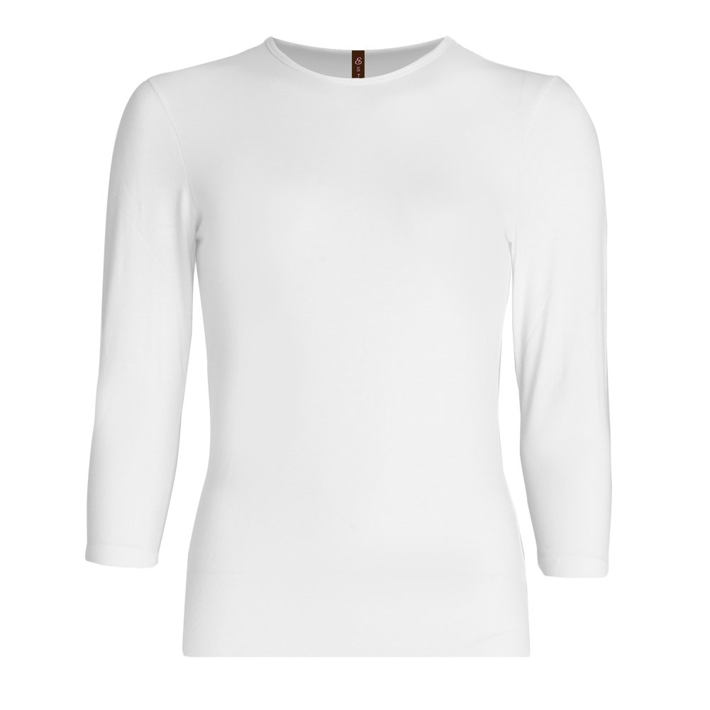 Esteez Girls 3/4 Sleeve Shirt Relaxed Fit EX601148 White Small