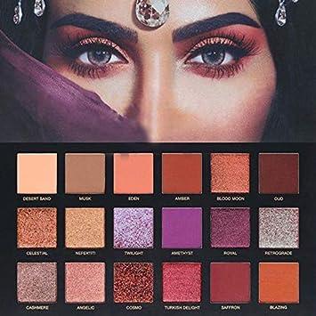 18 colores perla mate maquillaje integrado sombra de ojos ...