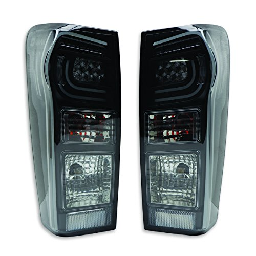 Powerwarauto Fitt Black Tail Lamp Light LED For Isuzu Holden D-Max Dmax 4WD 2WD 4x4 4x2 UTE Truck 2012 2013 2014 2015 2016 2017 2018