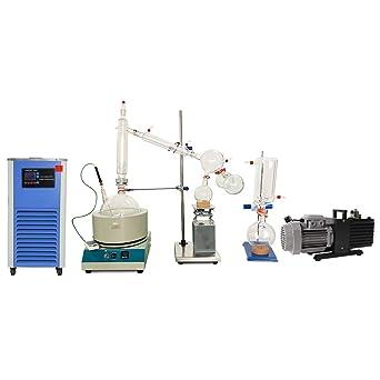 HNZXIB Kit de destilación de trayecto corto de vidrio de ...
