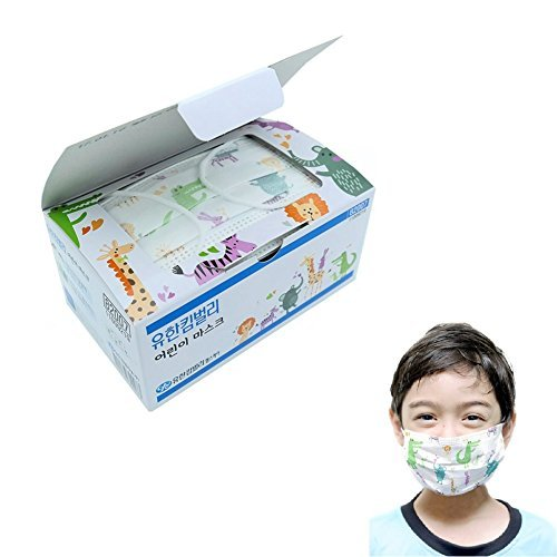Yuhan-Kimberly Child Face Mask kids Disposable Mask for Yellow-dust 36pcs by Yuhan-Kimberly