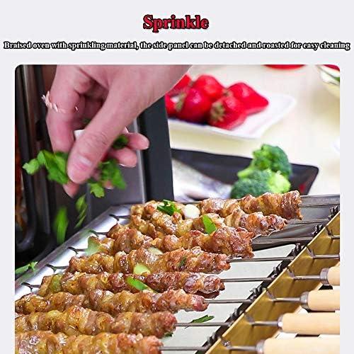 YHM Ensemble Complet Portable Extérieur De Barbecue Épaissi À La Maison, Barbecue Pique-Nique Maison Barbecue sans Fumée Barbecue