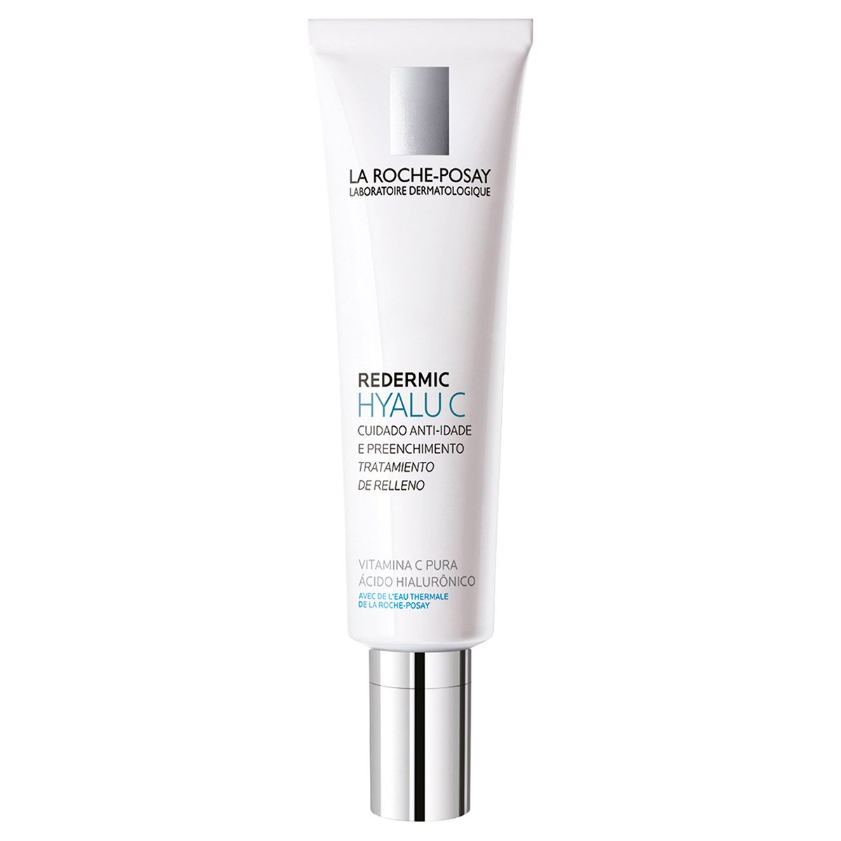 La Roche-Posay Redermic C Anti-Wrinkle Firming Face Moisturizer with Vitamin C and Hyaluronic Acid, 1.35 Fl. Oz.