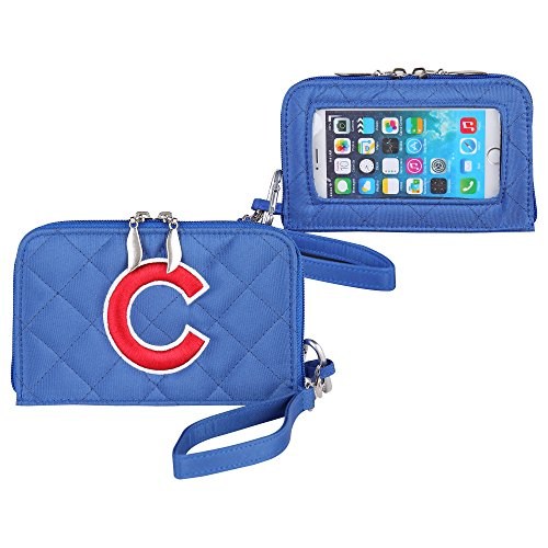 Chicago Cubs Quilted Cell Phone Wallet