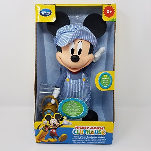 Disney Collection Talking Train Conductor Mickey