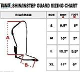 RAD-MMA-Shin-Instep-Foam-Pad-Support-Boxing-Leg-Guards-Foot-Protective-Gear-Kickboxing-Black