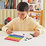 Learning Resources Rainbow Fraction Tiles, Early