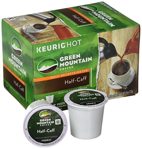 Green Mountain Coffee Half Caff, Vue Cup Portion Pack for Keurig Vue Brewing Systems (96 Count) by Green Mountain Coffee (Image #2)