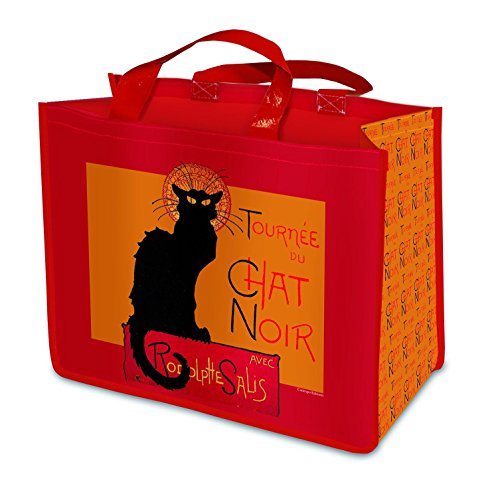 (Reusable Shopping Tote - Chat Noir by Cartexpo)