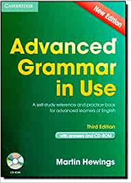 Advanced Grammar in Use 3rd Edition Book with Answers and CD-ROM ...