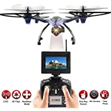 Owill JXD 506G 2.4G 6-Axis Gyro 5.8G FPV RC Quadcopter Drone With 720P HD Camera/Selfie Any Image For You (Black A)