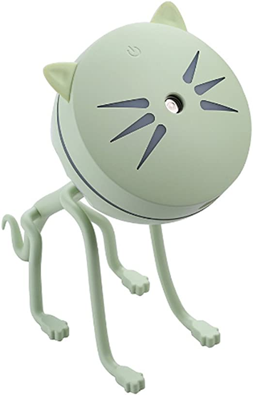Cartoon Cat Mini USB humidificador purificador de aire Difusor de ...