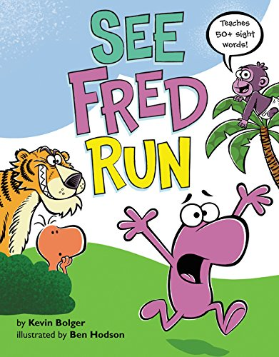 Download See Fred Run: Teaches 50+ Sight Words! pdf epub