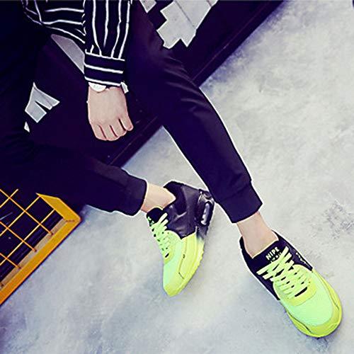 Verde Da Autunno TTSHOES EU36 Comoda Yellow PU Per Donna Primavera Poliuretano UK4 Scarpe Piatto Scarpe US6 Arancione CN36 Blu Ginnastica qxwrYpOzq