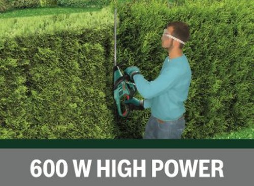 51hsa3rRBoL - Bosch AHS 60-26 Electric Hedge Cutter, 600 mm Blade Length, 26 mm Tooth Opening