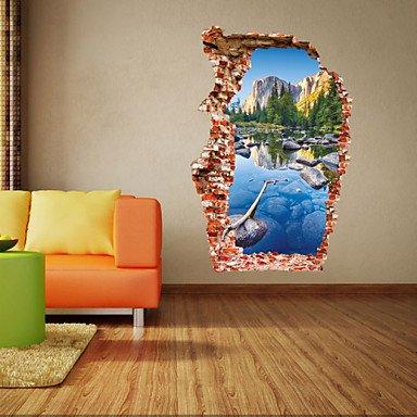 XI.W.H Moderno estilo creativo colorido paisaje de montaña piscina ...