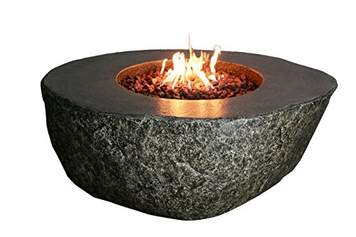 Elementi Burning Rock Fire Pit - Natural Gas