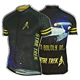 Brainstorm Gear 2016 Mens Star Trek 50th Anniversary Cycling Jersey - STFA-M