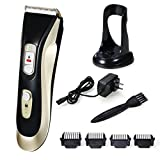 Glyby Pet Grooming Clippers, Professional Waterproof Electric Clipper for Dog or Cat Use with Rechargeable Lithium Battery