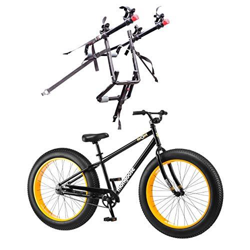 "Mongoose 26"" Brutus Mens Alloy All Terrain Mountain Bike & 2"