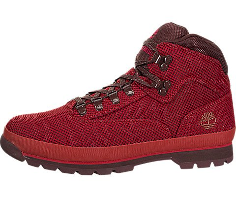 (Timberland Euro Hiker Cordura Boots A10AB-625 (10.5 M US, Medium Red Knit))