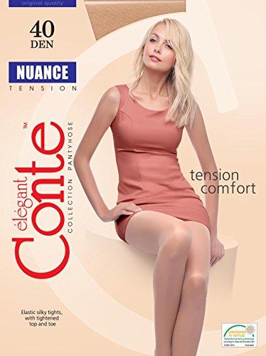 Conte Elegant Tights, Nuance, 40 Denier, Color: Mocca (101014005)