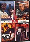4 Movie Pack-Carolina Skeletons, The Cops are Robbers, Mike Hammer Private Eye, On the Streets of LA