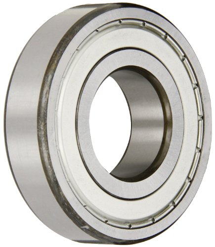 SKF 609-Z Radial Bearing, Single Row, Deep Groove Design, ABEC 1 Precision, Single Shield, Non-Contact, Normal Clearance, Standard Cage, 9mm Bore, 24mm OD, 7mm Width