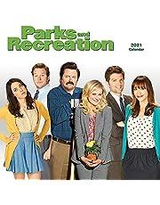 Parks & Recreation Calendar, 2021 Wall Calendar, Parks and Rec Merchandise