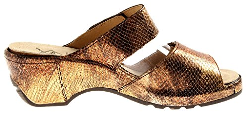 Cuir m54106 Bronze Chaussons en Sabots Chaussons Mule Cuir M Theresia qF8Pwt1zZ