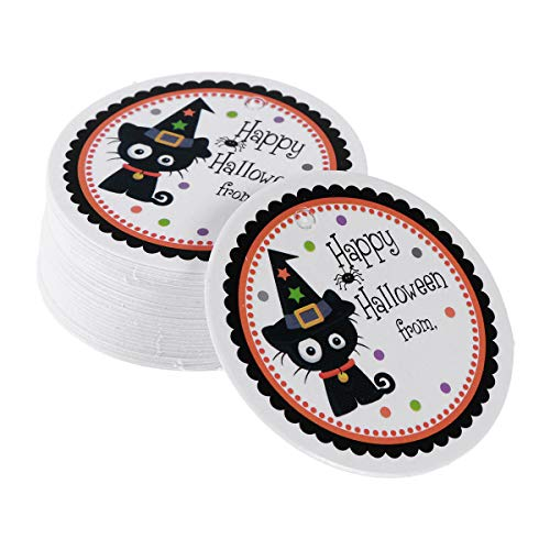 BESTOYARD 48-50pcs Tags Message Cards Party Favors Baking