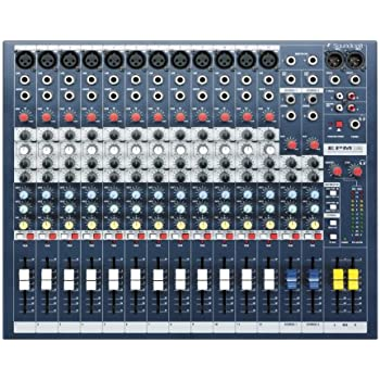 Soundcraft EPM12 High-Performance 12-Channel Audio Mixer