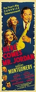 Here Comes Mr. Jordan Póster de película dípticas 14x 36en–36cm x 92cm